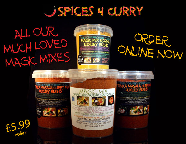 Spices 4 Curry - Order your Magic Mix Online Now